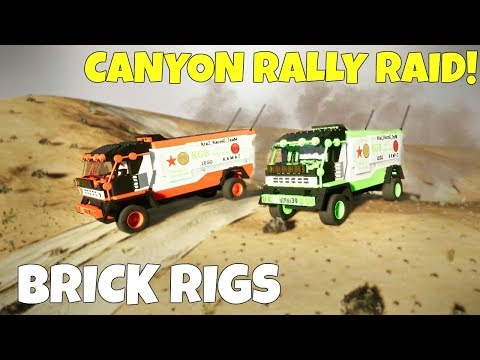 MULTIPLAYER CANYON RALLY RACE! - Brick Rigs Multiplayer Game