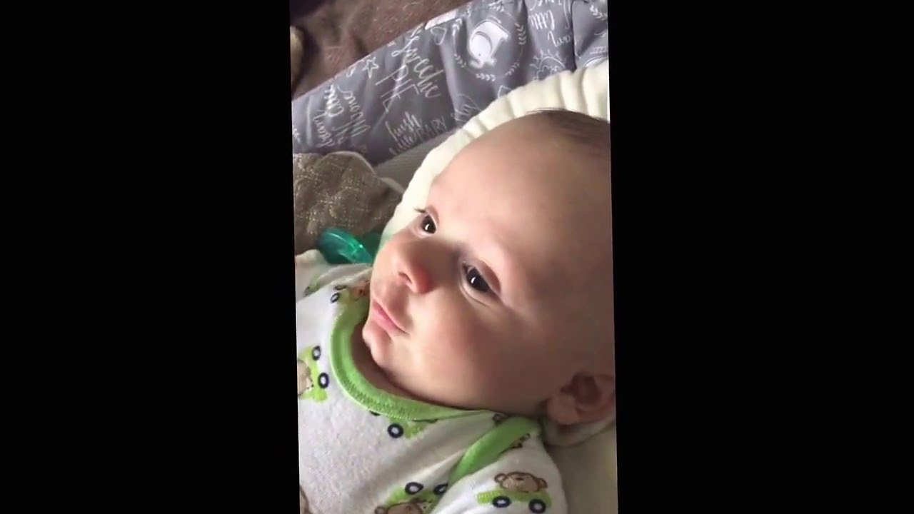 My Baby Saying I Love You At 2 12 Months Youtube