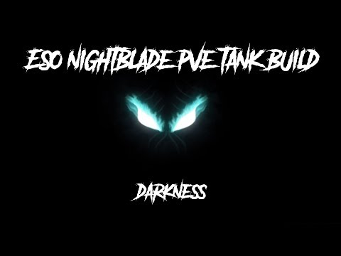 ESO Nightblade Tank PvE Build - Darkness - Murkmire Patch