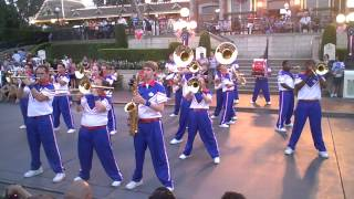 Disneyland: 2012 All American College Band Finale