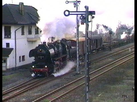 Gute alte Dampfeisenbahn - Reichsbahn-Flair in Salzwedel 1994