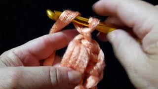 7 Урок. Пышный столбик. Техника быстрого вязания. Крючок для начинающих