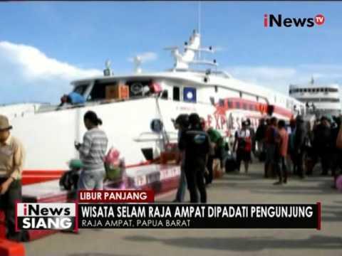 Wisata Pulau Bahari di Raja Ampat, Papua, destinasi wisata yang padat pengunjung - iNews Siang 06/05
