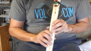 How To Play O'Christmas Tree on the Native American Flute