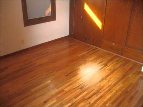 Red Oak Natural Finish No Stain Youtube
