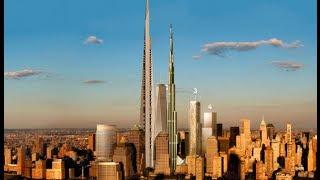 Immagini e dati della kingdom tower. partono i lavori del grattacielo più alto mondo.