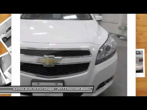 2013 chevrolet malibu fort dodge ia 80799f youtube. Black Bedroom Furniture Sets. Home Design Ideas