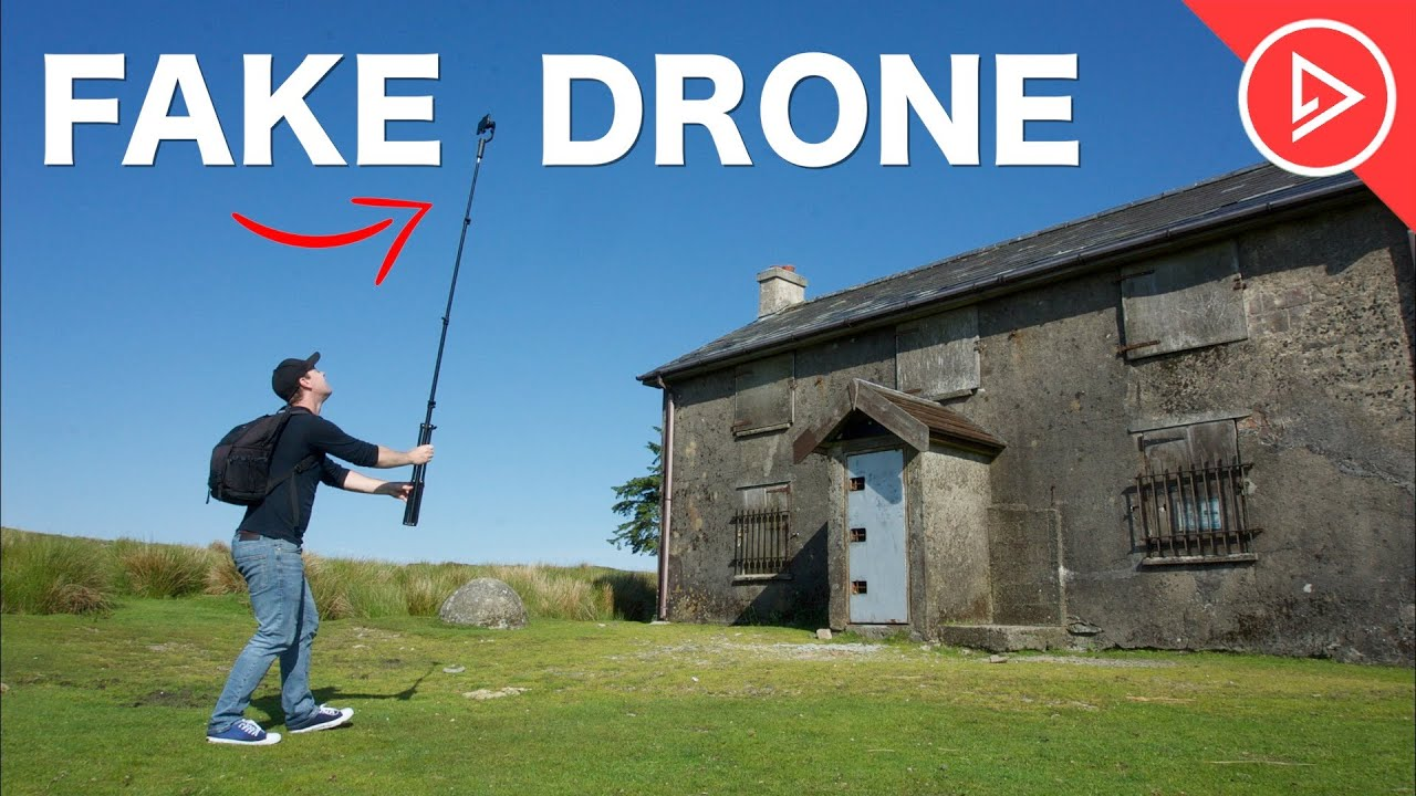 How To FAKE A Drone Shot | EASY Tips for Filmmakers & Videographers