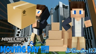 Minecraft PE || Moving To A New House!!