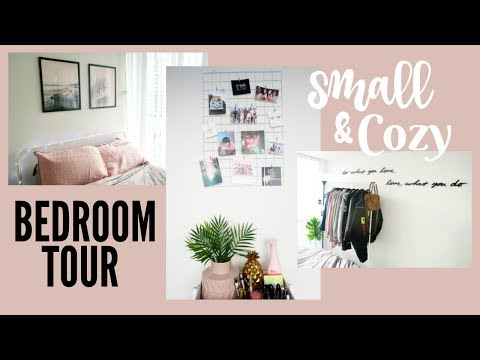 SMALL ROOM TOUR 2018! Apartment Bedroom Decor
