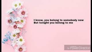 Gambar cover Tonight you belong to me Christina Perri Lyrics Video