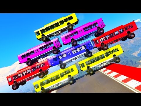 Thumbnail: Learning Numbers Bus Monster Truck w Cartoon for Kids Color CARS & Learning Video