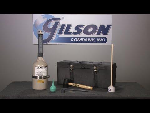 Gilson Volumetair™ Concrete Air Meter (HM-33)