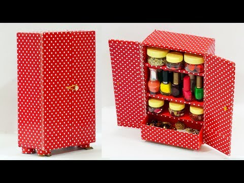DIY Crafts: Best Out of Waste Crafts | How to Use Waste Shoe Box | DIY Cupboard From Old Shoe Box
