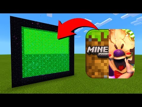 How To Make A Portal To The Minecraft vs Ice Scream Dimension in Minecraft!