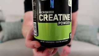Optimum Nutrition Micronized Creatine Monohydrate Review/Taste Test