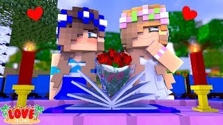 LITTLE KELLY & CARLY ARE GETTING MARRIED! | Minecraft Love Island