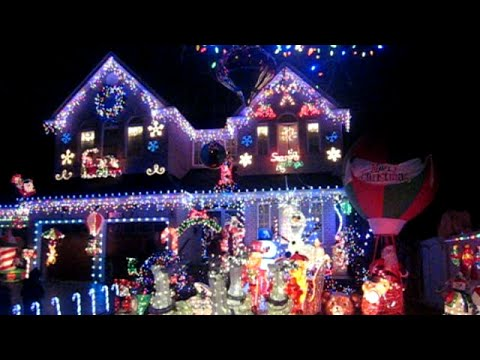 best christmas light decorations weve ever seen youtube