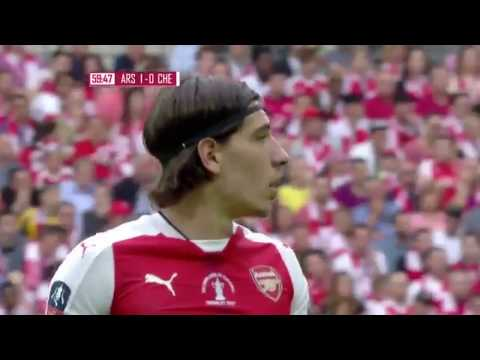 Hector Bellerin Vs Chelsea Away HD 720p (27/05/2017) - English Commentary