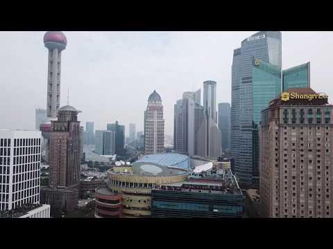 Downtown Shanghai January 2018