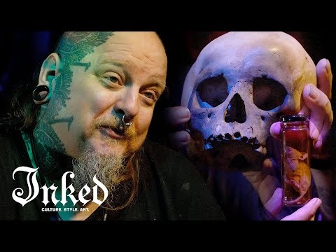 I Collect Human Skulls And Other Oddities | INKED