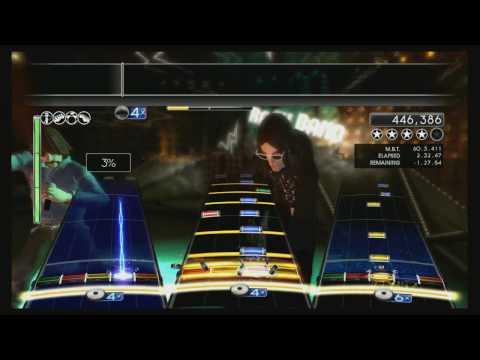 Mighty Morphin Power Rangers Theme Song ROCK BAND 2 CUSTOM