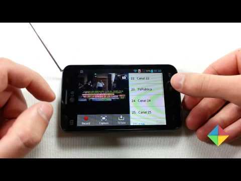 LG Optimus L4 II: Aplicación de TV