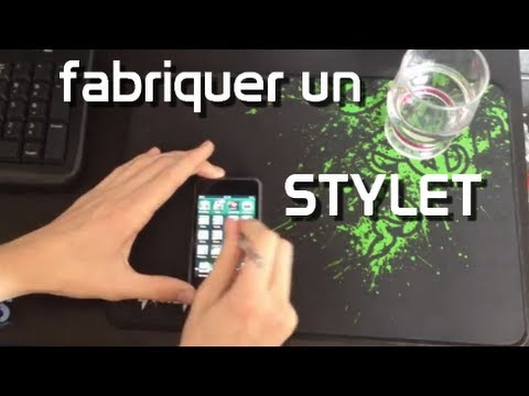 fabriquer son stylet pour iphone youtube. Black Bedroom Furniture Sets. Home Design Ideas