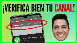 ✅ Cómo VERIFICAR mi CANAL de YOUTUBE + TRUCO para ACTIVAR y VER las pestañas (Tips Youtuber)