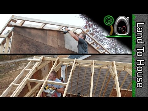 Ladders and Roof Blocking - Build a Workshop #11