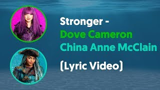 "Dove Cameron and China Anne McClain - Stronger (Lyrics Video) From ""Descendants: Under The Sea"""