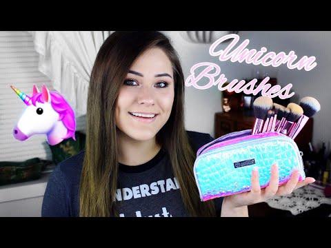New! BH Cosmetics Crystal Quartz Brush Set Review / Demo