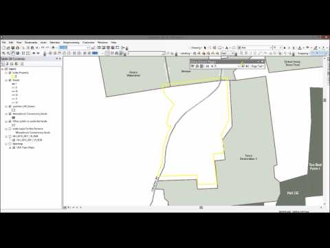 Data Driven Pages for Land Trusts