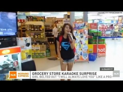 Viral video of the Day: Supermarket karaoke