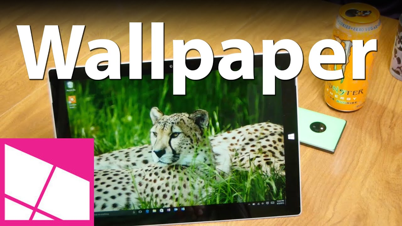How to change your Windows 10 wallpaper - YouTube