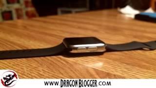 Ulefone uWear Smartwatch Waterproof Test Video