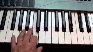 How To Play Beautiful Cause You Love Me - Girls Aloud - On Piano