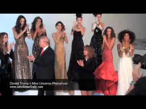 Donald Trump x Miss Universe Photoshoot