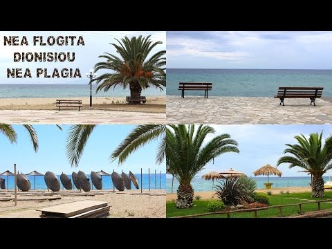 Nea Flogita-Nea Plagia-Dionisiou (Greece) Travel Video