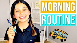 MORNING ROUTINE 🌅 | 🏫 School  Edition