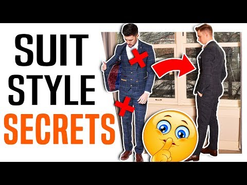 5 SECRET Ways To Make Your Suit Look Better   How To Dress Properly In A Suit