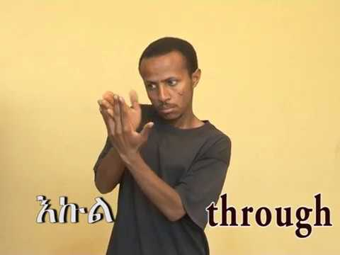 ethiopia sign language