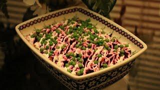 Очень полезный салат из свеклы