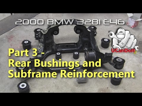 BMW E46 Clunk Part 3 | Subframe and Chassis Reinforcement