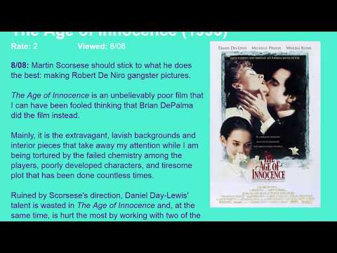 Movie Review: The Age of Innocence (1993) [HD]