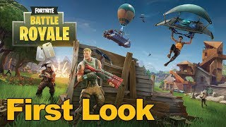 Fortnite Battle Royale Gameplay First Look - MMOs.com