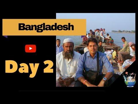 Travelling through rivers in Bangladesh : Day 2 (Solo backpacking Bangladesh)