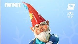 Fortnite New skins. GRIMBLES - GARDEN GNOME SKIN
