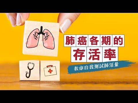 【養命教室vol.20】肺癌各期的存活率