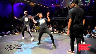 Finał Hip Hop Dance na JUSTE DEBOUT HOLLAND 2016